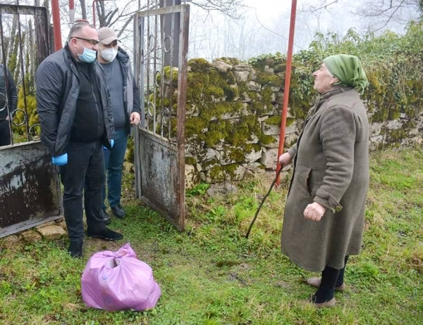 Georgian Manganese Organizes Delivery of Essentials to Elderly in Chiatura